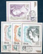 Italia 1999 - Donne Nell' Arte - Cartolina Maximum - Cartes-Maximum (CM)