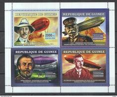 H093 2006 DE GUINEE AVIATION ZEPPELIN 1KB MNH - Zeppelins