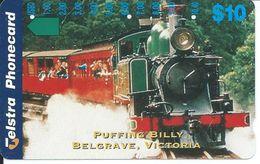 Train Locomotive Télécarte  Phonecard Telefonkarte  (S. 638) - Australie