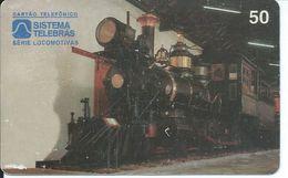 Train Locomotive Télécarte  Phonecard Telefonkarte  (S. 640) - Brésil