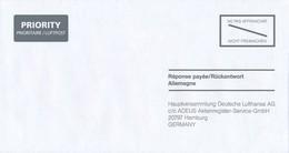 BRD Hamburg Rückantwort Nicht Freimachen Priority Deutsche Lufthansa Hauptversammlung - BRD