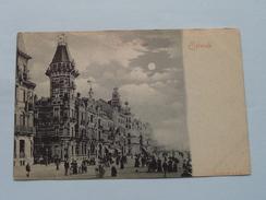 Digue De Mer (4144 Bns R & J. D.) Anno 1900 ( Zie Foto's Voor Detail ) ! - Oostende