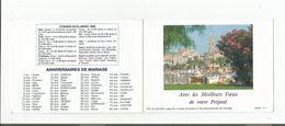 CALENDRIER DE POCHE DU FACTEUR 1988 - Calendarios