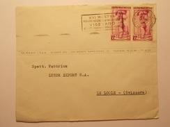 Marcophilie  Cachet Lettre Obliteration - Timbre - ITALIE Destination SUISSE - 1952 (1217) - 6. 1946-.. Republic