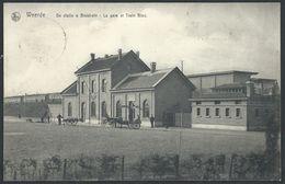 CPA   WEERDE    De Statie & Bloktrein - La Gare Et Le Train Nloc - Zemst