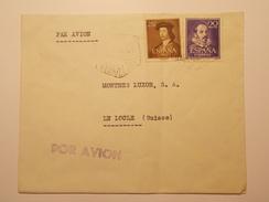 Marcophilie  Cachet Lettre Obliteration - Timbre - ESPAGNE Destination SUISSE - (1227) - 1931-Today: 2nd Rep - ... Juan Carlos I