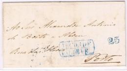 Portugal, 1852, Arcos De Valdevez-Porto - Portugal
