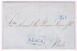 Portugal, 1851, Braga-Porto - Portugal
