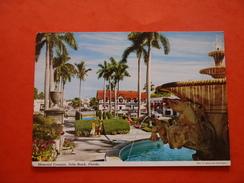 PALM BEACH FLORIDE - MEMORIAL FOUNTAIN - - Palm Beach