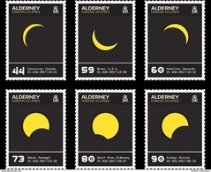 Alderney - Postfris / MNH - Complete Set Eclipse 2017 - Alderney
