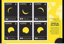 Alderney - Postfris / MNH - Sheet Eclipse 2017 - Alderney