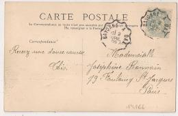 Convoyeur BAYONNE A DAX Pour PARIS. 1905. - 1877-1920: Période Semi Moderne