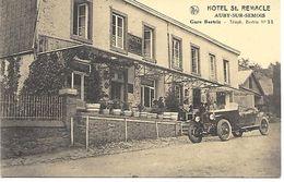 CPA / AK / PK -  AUBY-SUR-SEMOIS  Hotel St-Remacle    ( Oldtimer ) - Bertrix