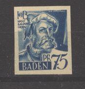 Baden,11 Ungezähnt,xx  (5290) - Französische Zone
