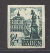 Baden,22 Ungezähnt,xx  (5290) - Französische Zone