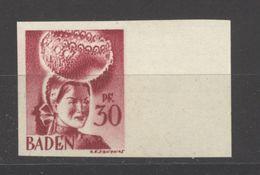 Baden,23 Ungezähnt,xx  (5290) - Französische Zone