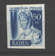 Baden,24 Ungezähnt,xx  (5290) - Französische Zone