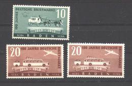 Baden,54/55 I-II,xx  (5290) - Französische Zone