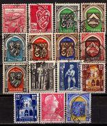 ALGERIEN Lot 1941 - 1956  Used - Algerien (1924-1962)