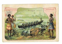 CHROMO IMAGE PHOSCAO EMBARCATIONS PRIMITIVES LA PIROGUE - Tea & Coffee Manufacturers