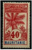 Mauritanie (1906) N 10 * (charniere) - Mauritanie (1906-1944)