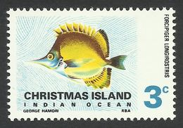 Christmas Island, 3 C. 1968, Sc # 24, Mi # 24, MH. - Christmas Island