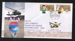 HONG KONG  Scott #693-4 On 1995 X-RAY SOUVENIR COVER (9/JU/95) - Hong Kong (...-1997)