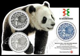 Nuova Zelanda / New Zealand 2011: Foglietto Esposizione Filatelica China 2011 / China 2011 Stamp Exhibition S/S ** - Blocks & Sheetlets