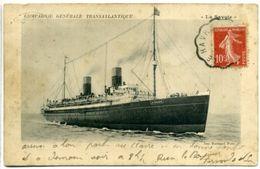 """Compagnie Générale Transatlantique - """"La Savoie"""" - Dampfer"""