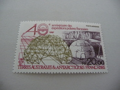 TIMBRE   TAAF   POSTE  AERIENNE   1988   N  102   COTE  11,50  EUROS   NEUF  LUXE** - Airmail