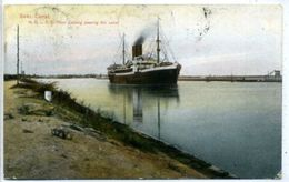 Suez Canal - N.D.L. S.S. Prinz Ludwig Passing The Canal - Dampfer