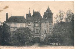 Cpa 37  Chateau De Réaux - Altri Comuni