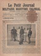 PETIT JOURNAL MILITAIRE MARITIME COLONIAL 10 4 1904 - GENDARMERIE - INFANTERIE RUSSE - OFFICIERS ITALIENS - BIZERTE - Sin Clasificación