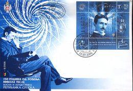 27131  Serbia, Fdc 2006  Nikola Tesla, Physicist, Inventor - Physik