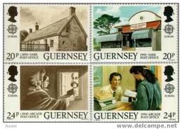 Cept 1990 Guernsey Yvertn° 485-88 *** MNH Cote 5 Euro - 1990