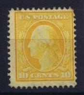 USA  Sc Nr 338  Mi Nr 169A MH/* Falz/ Charniere 1908 - Verenigde Staten