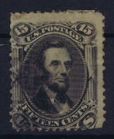 USA  Sc 77  Mi Nr 22 Obl./Gestempelt/used   1861 - 1847-99 General Issues