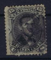 USA  Sc 98  Mi Nr 22 W Obl./Gestempelt/used   1861  Damage - 1847-99 General Issues