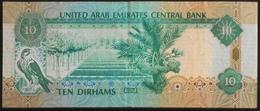 1 Billet De Banque - United Arab Emirates Central Bank 10 Dirhams - BE - Emirats Arabes Unis