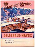 Lot De 6 Buvards 2nd Choix + 1 Protège-cahier Corona Delespaul-Havez. - Buvards, Protège-cahiers Illustrés