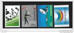 Nederland  ....  NVPH  ....     1032/1035       ....   **  ....  Postfris .... MNH ....  Postfrisch .... Neuf ** - Periode 1949-1980 (Juliana)