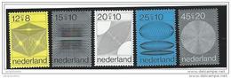 Nederland  ....  NVPH  ....    965/969      ....   **  ....  Postfris .... MNH ....  Postfrisch .... Neuf ** - Periode 1949-1980 (Juliana)