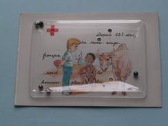 Cartejeu / Kaart Met Spel ( Croix-Rouge Française ) Edit PGC Vaulx-en-Velin - Anno 198? ( Voir Photo ) ! - Croix-Rouge