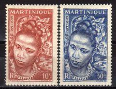 MARTINIQUE 1947 - MiNr: 239-240  Eingeborene ** / MNH - Martinique (1886-1947)
