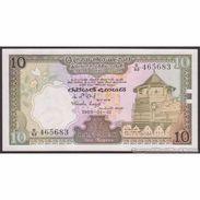 TWN - CEYLON 92b - 10 Rupees 1.1.1985 Prefix D/67 UNC - Billets