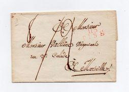 !!! PRIX FIXE: DEPT CONQUIS, 113 MEDITERRANEE, MARQUE POSTALE DE PISE SUR LETTRE SANS TEXTE - Postmark Collection (Covers)