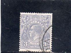 AUSTRALIE 1923-4 O - 1913-36 George V: Heads