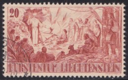 Liechtenstein   .    Yvert   .   177      .        O     .          Gebraucht - Liechtenstein