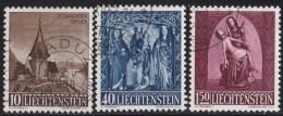 Liechtenstein   .    Yvert   .      324/326     .        O     .          Gebraucht - Liechtenstein