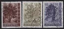 Liechtenstein   .    Yvert   .      333/335      .        O     .          Gebraucht - Liechtenstein